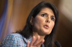 Nikki Haley: Russian cyberinterference into US elections is 'warfare'
